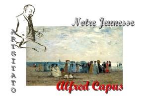 Jacky Lavauzelle Alfred Capus Notre jeunesse Artgitato Baigneurs sur la plage de Trouville Eugène-Louis BOUDIN