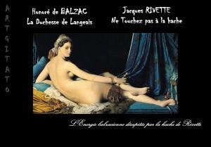 BALZAC RIVETTE La Duchesse de Langeais Artgitato peinture-ingres-la-grande-odalisque