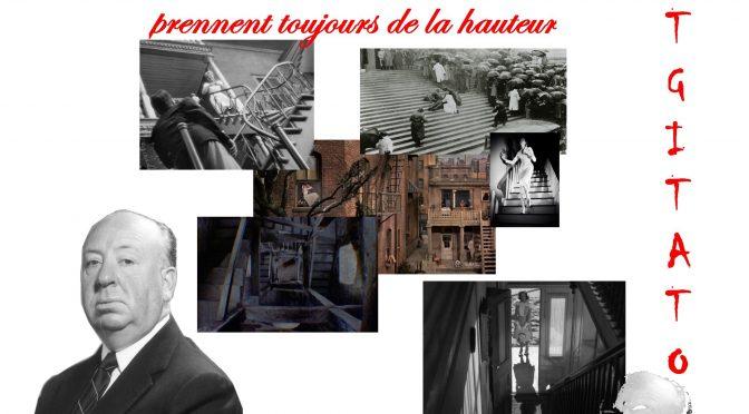 Alfred HITCHCOCK LE SUSPENSE ET LE CRIMME PRENNENT TOUJOURS DE LA HAUTEUR