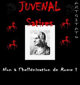 Juvenal Satires Non à l'Hellénisation de Rome Artgitato