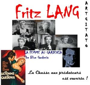 La Femme au gardénia The Blue Gardenia Fritz Lang Artgitato