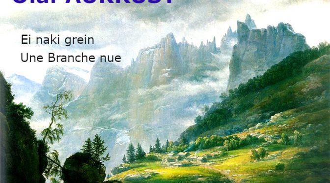 Ei naki grein Olaf AUKRUST Une Branche nue – Poème Norvégien
