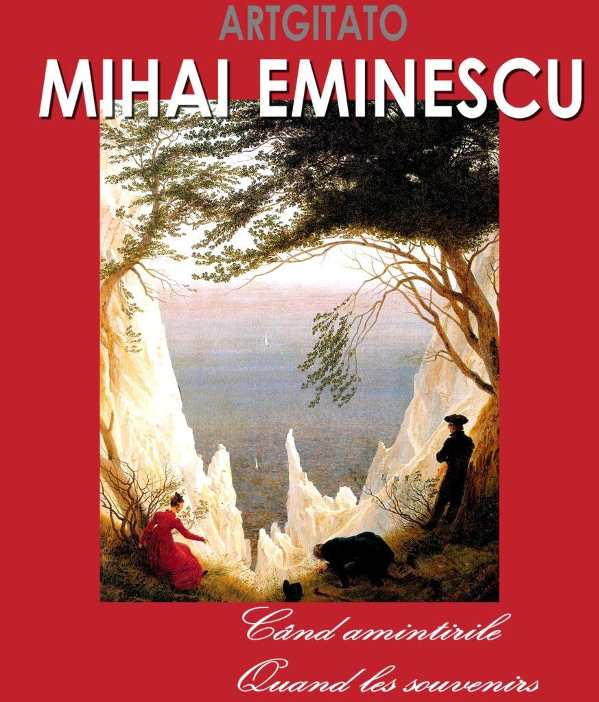 Când amintirile Quand les souvenirs Mihai Eminescu Artgitato Caspar David Friedrich Falaises de craie sur l'île de Rügen 1818