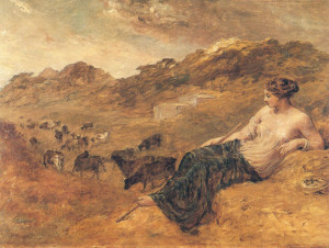 Cyrene_and_Cattle_-_Edward_Calvert