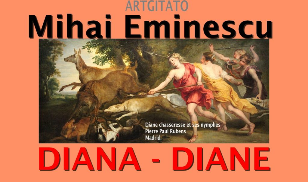 Diane Diana Mihai Eminescu Artgitato Diane chasseresse et ses nymphes Pierre Paul Rubens Madrid.