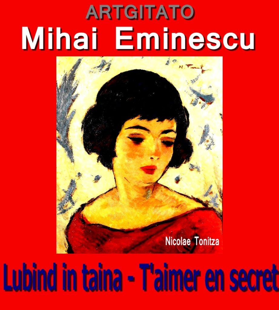 Lubind in taina T'aimer en secret Mihai Eminescu Artgitato Nicolae Tonitza Femme