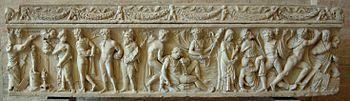 350px-Sarcophagus_Orestes_Iphigeneia_Glyptothek_Munich_363_front