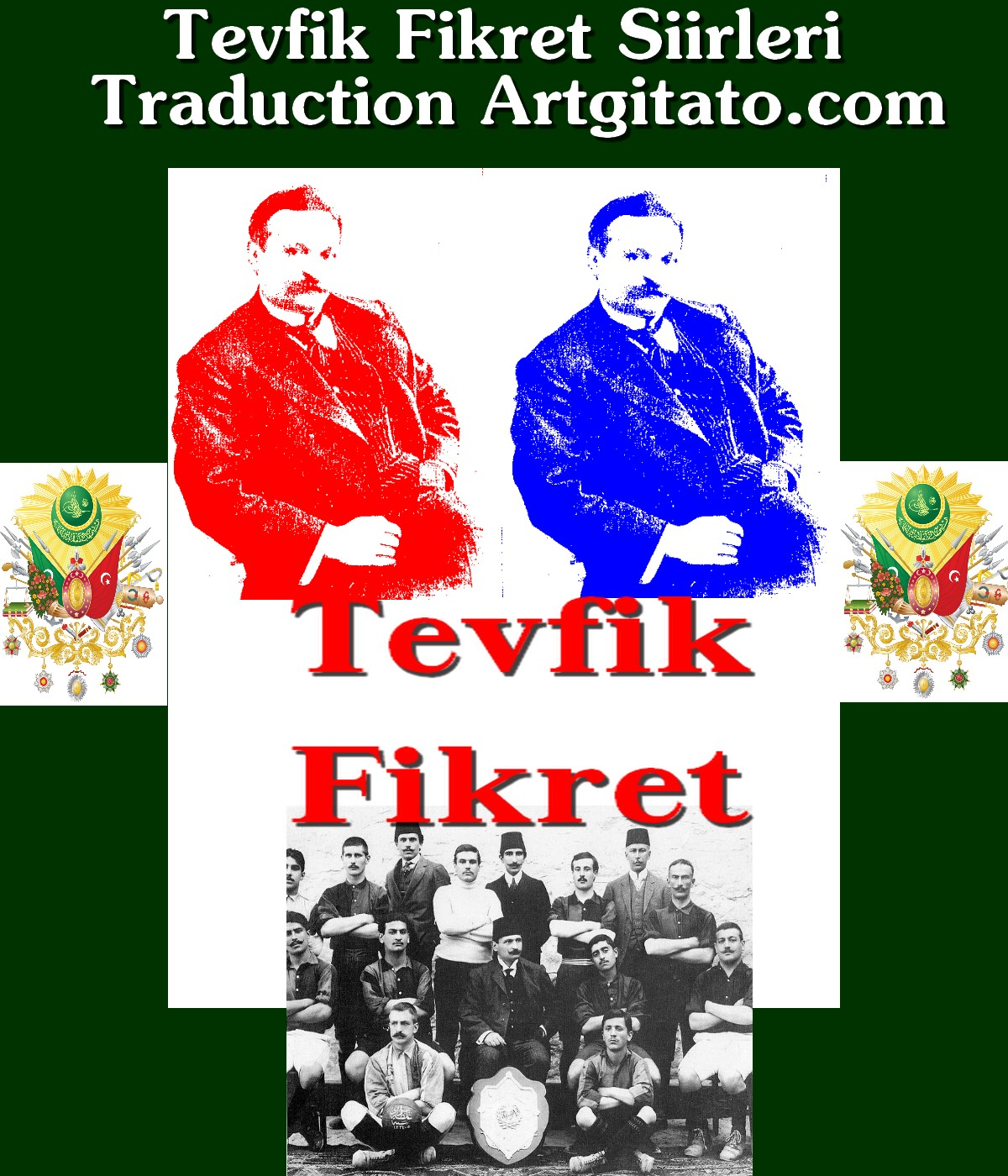 Tevfik Fikret Poesie Artgitato Traduction Poèmes
