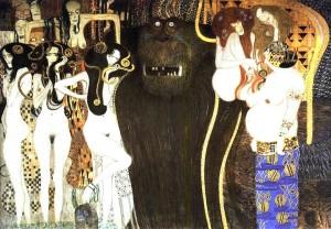 Typhon par Klimt
