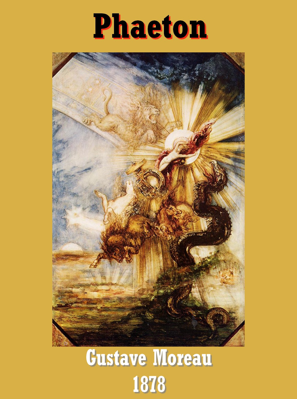 Suetone Caligula Gustave_Moreau_-_Phaeton,_1878
