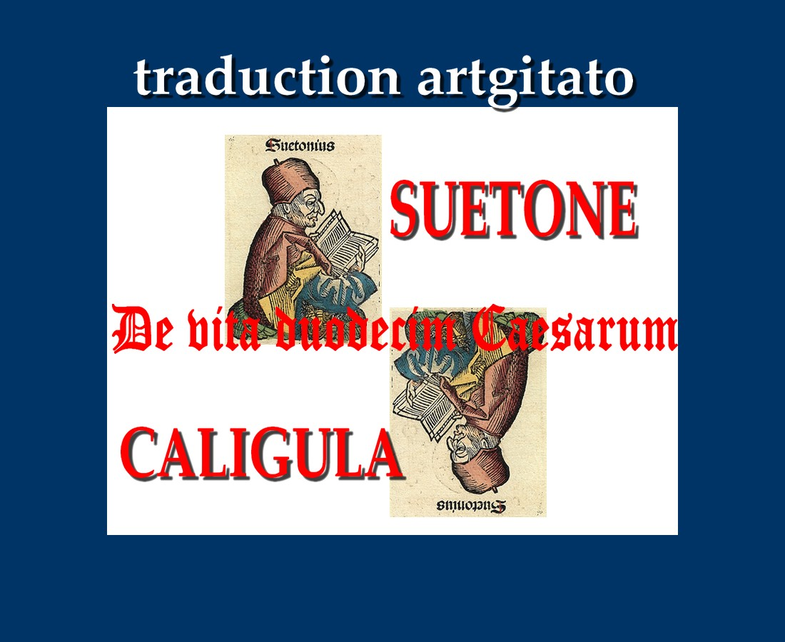 Suetone Caligula artgitato De vita duodecim Caesarum libri VIII