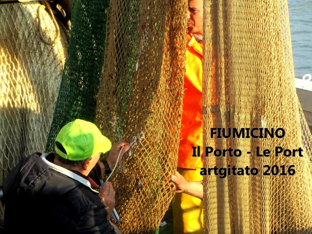 1 Fiumicino Zona Roma Rome artgitato 2016 Il porto di Fiumicino