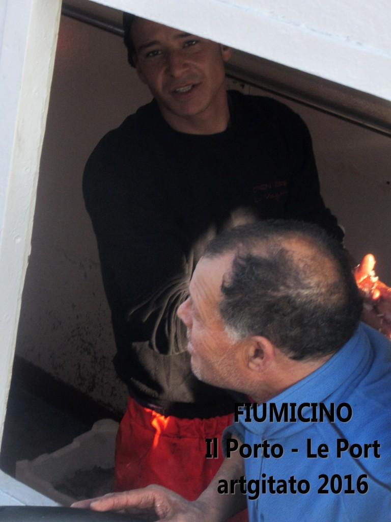 3 Fiumicino Zona Roma Rome artgitato 2016 Il porto di Fiumicino