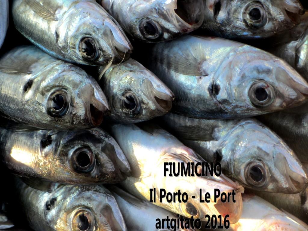4 Fiumicino Zona Roma Rome artgitato 2016 Il porto di Fiumicino