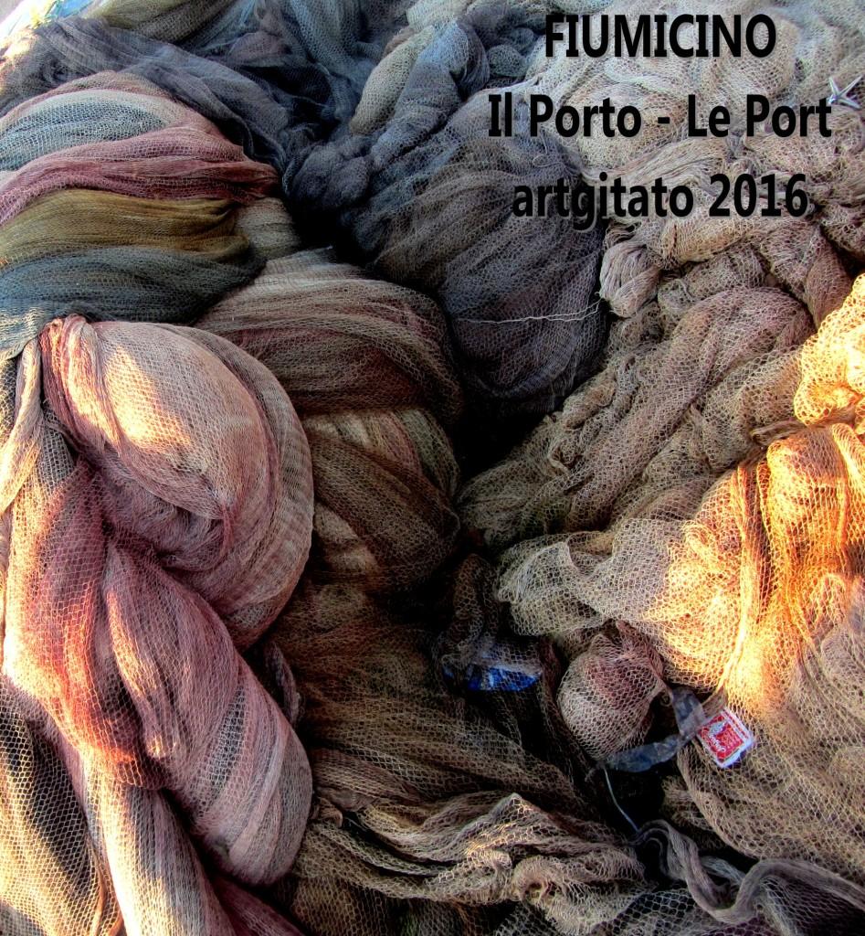 5 Fiumicino Zona Roma Rome artgitato 2016 Il porto di Fiumicino