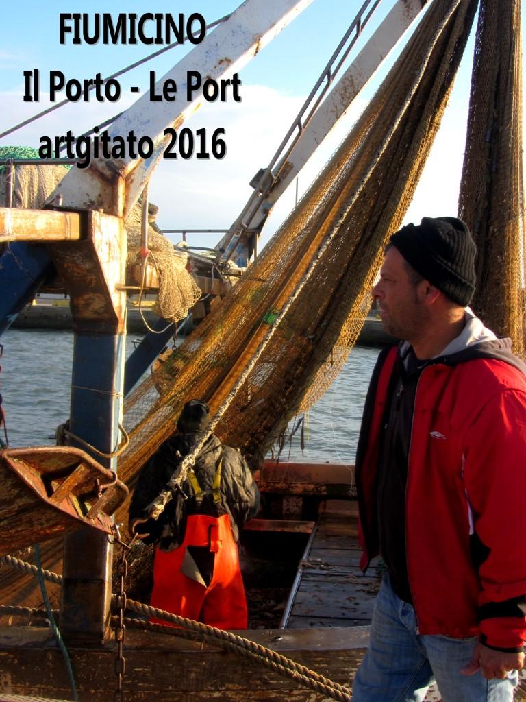 6 Fiumicino Zona Roma Rome artgitato 2016 Il porto di Fiumicino