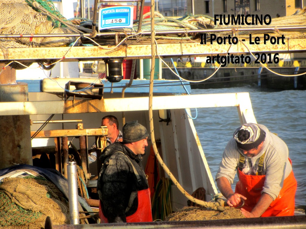 7 Fiumicino Zona Roma Rome artgitato 2016 Il porto di Fiumicino