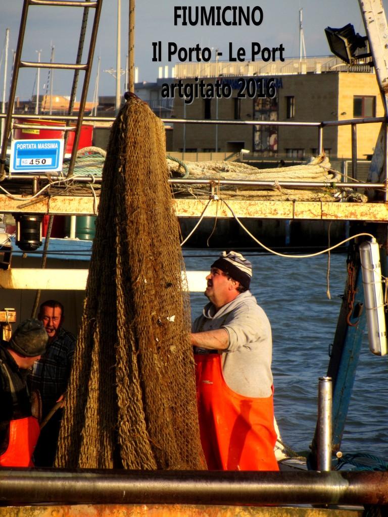 8 Fiumicino Zona Roma Rome artgitato 2016 Il porto di Fiumicino