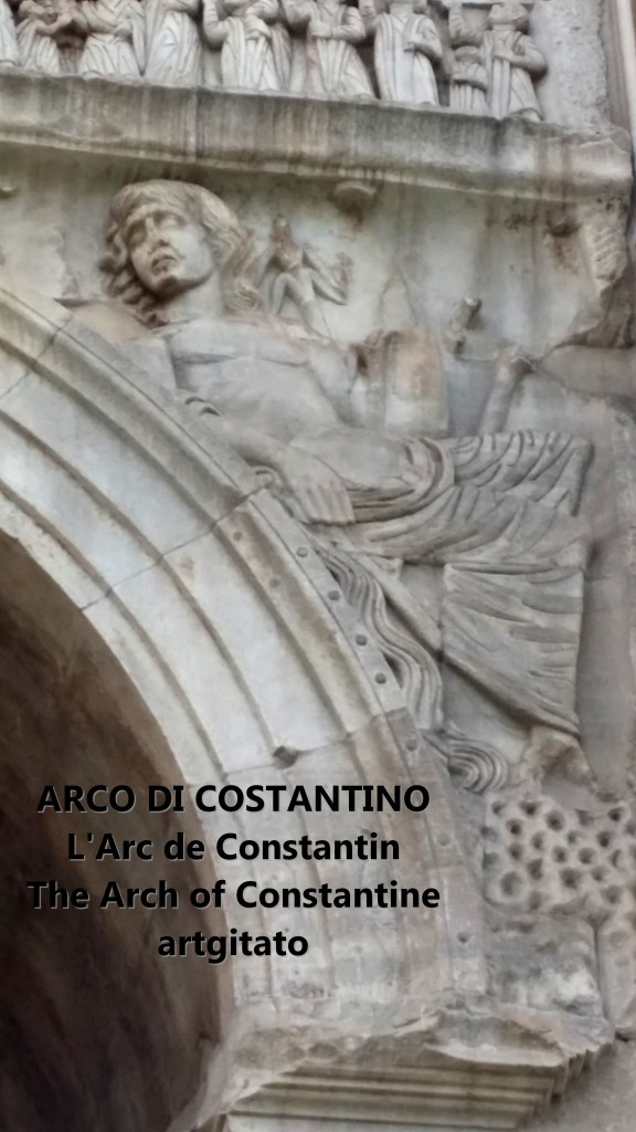 ARCO DI COSTANTINO Arc de Constantin The Arch of Constantine artgitato 100