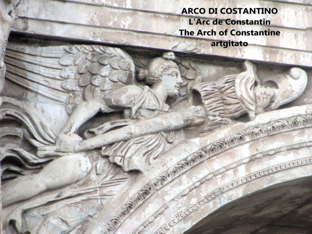 ARCO DI COSTANTINO Arc de Constantin The Arch of Constantine artgitato 6