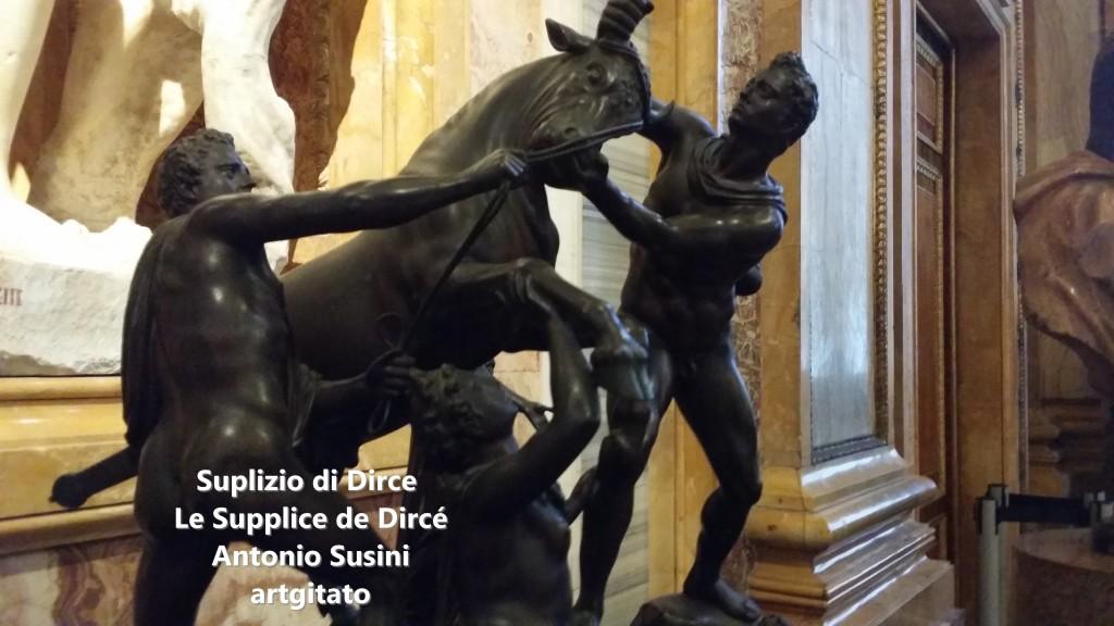 Antonio Susini Le supplice de Dircè Suplizio di Dirce artgitato Galerie Brorghese Galleria Borghese artgitato 0