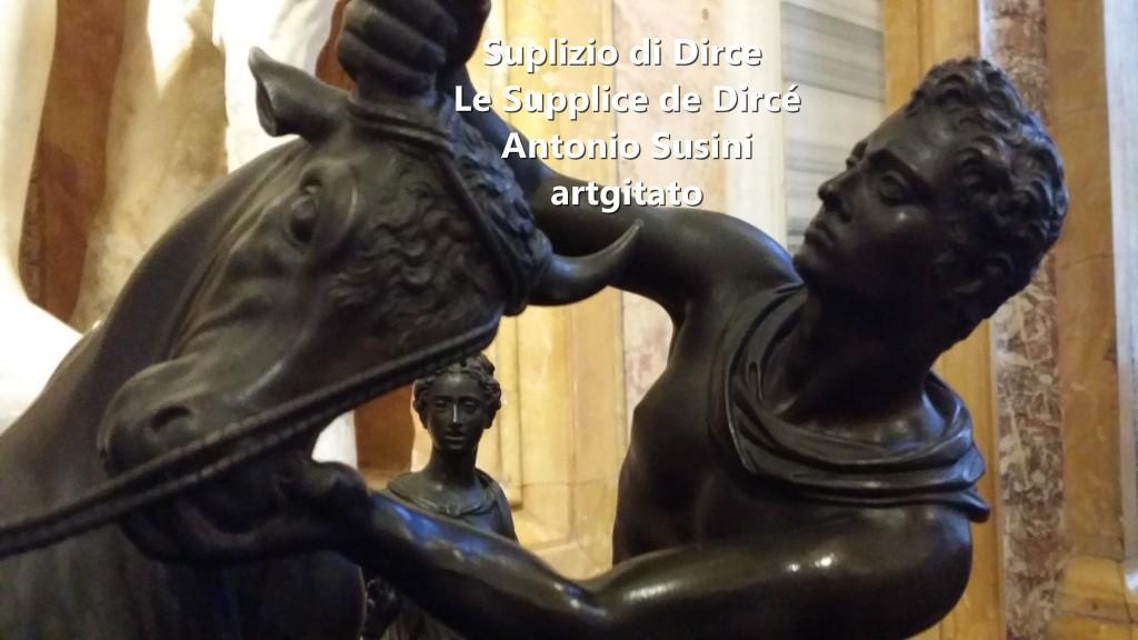 Antonio Susini Le supplice de Dircè Suplizio di Dirce artgitato Galerie Brorghese Galleria Borghese artgitato