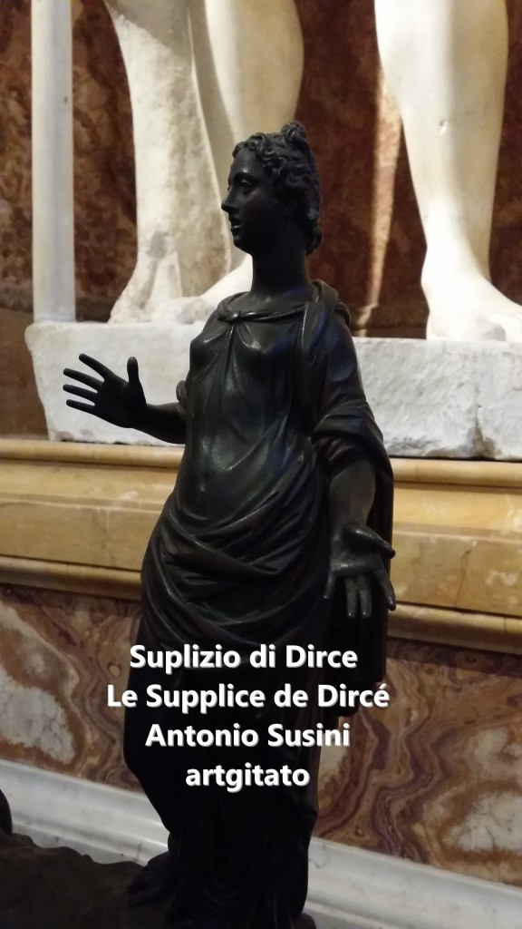 Antonio Susini Le supplice de Dircè Suplizio di Dirce artgitato Galerie Brorghese Galleria Borghese artgitato 2