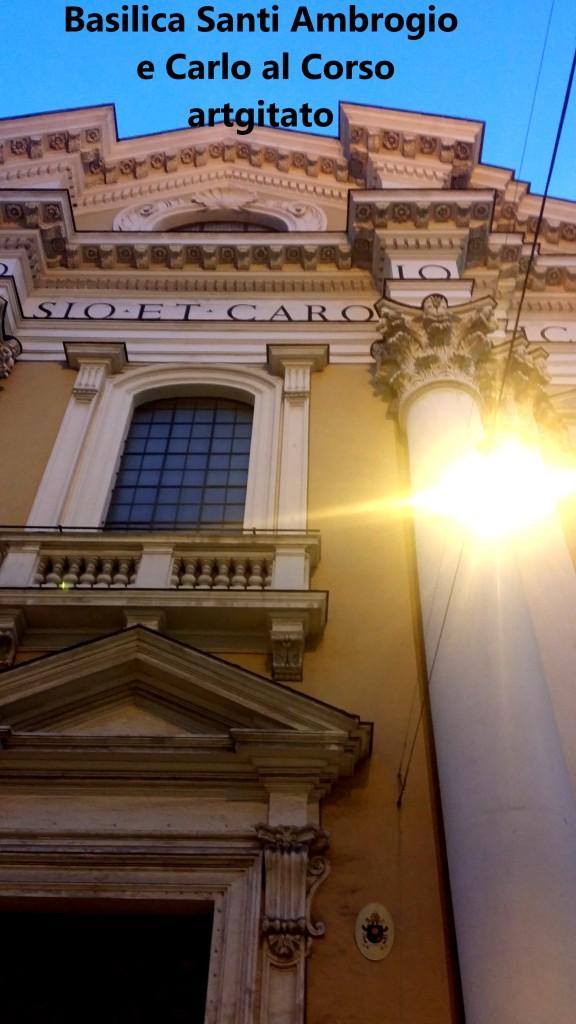 Basilica santi ambrogio e carlo al corso Basilique saint ambroise et saint Charles au Corso 1