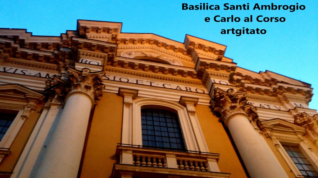 Basilica santi ambrogio e carlo al corso Basilique saint ambroise et saint Charles au Corso 2