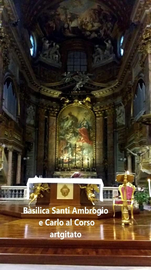 Basilica santi ambrogio e carlo al corso Basilique saint ambroise et saint Charles au Corso 6