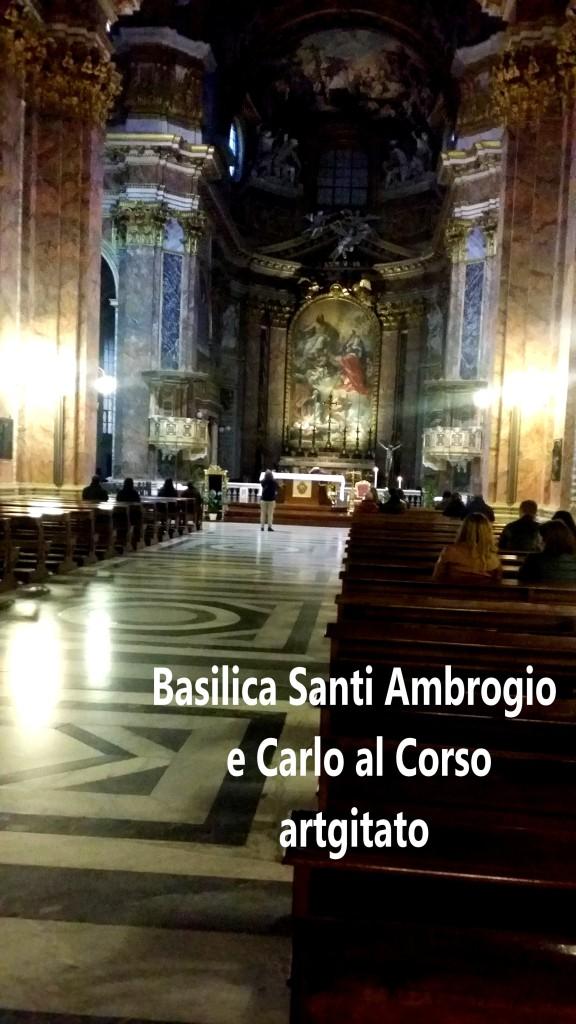 Basilica santi ambrogio e carlo al corso Basilique saint ambroise et saint Charles au Corso 7