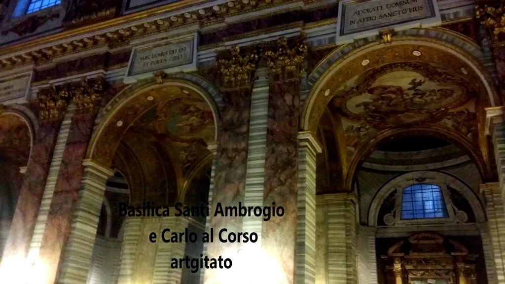 Basilica santi ambrogio e carlo al corso Basilique saint ambroise et saint Charles au Corso 8