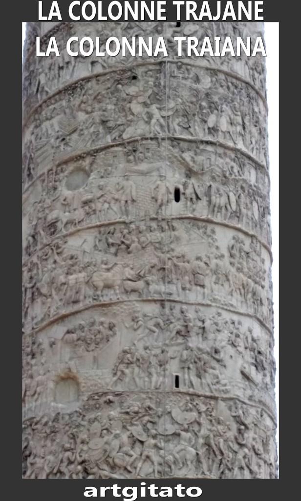 Colonne Trajane - La Colonna Traiana artgitato Roma Rome 2