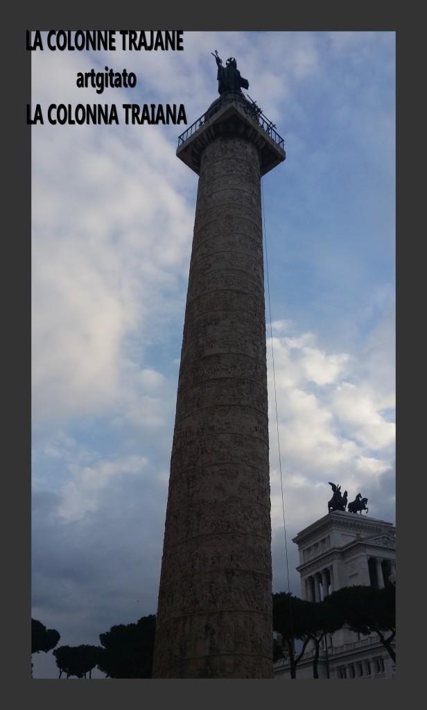 Colonne Trajane - La Colonna Traiana artgitato Roma Rome 4