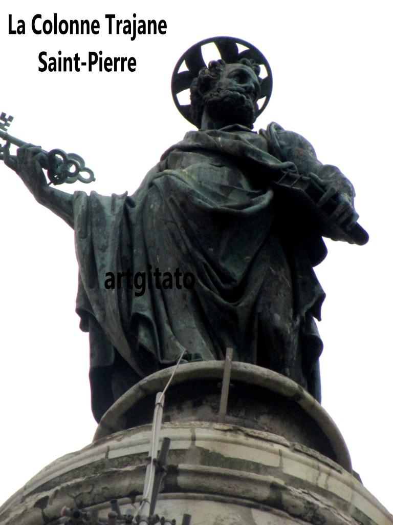Colonne Trajane - La Colonna Traiana artgitato Roma Rome 8