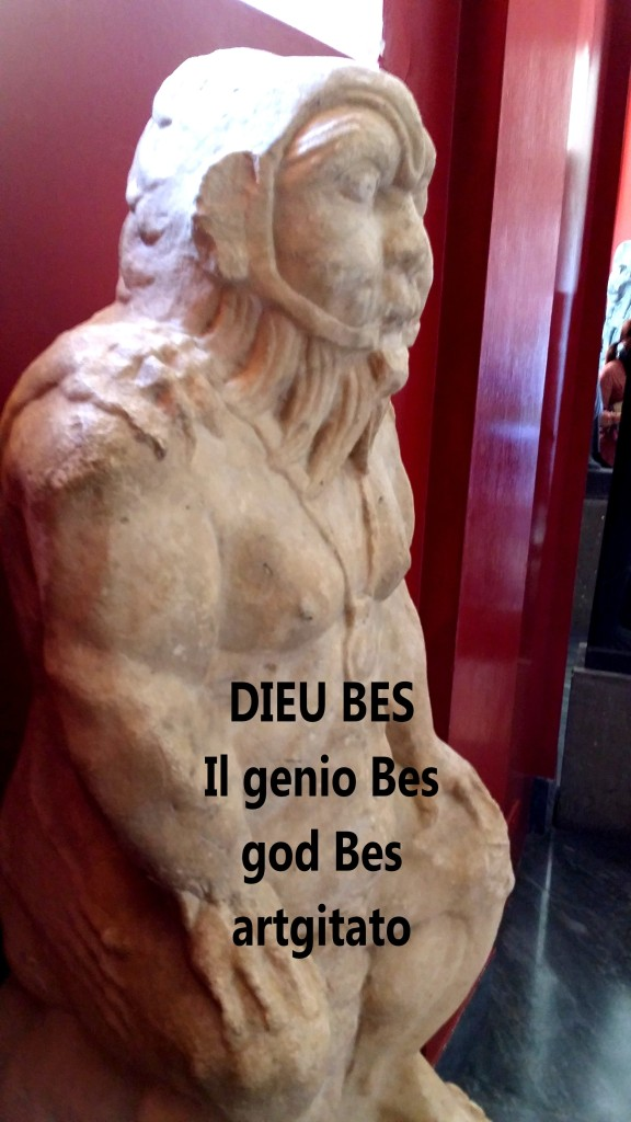 DIEU BES god bes dieu bès artgitato 2