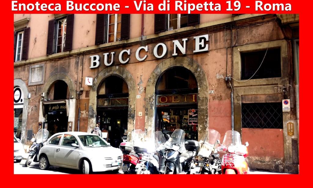 Enoteca Buccone Via di Ripetta 19 Artgitato Roma Rome