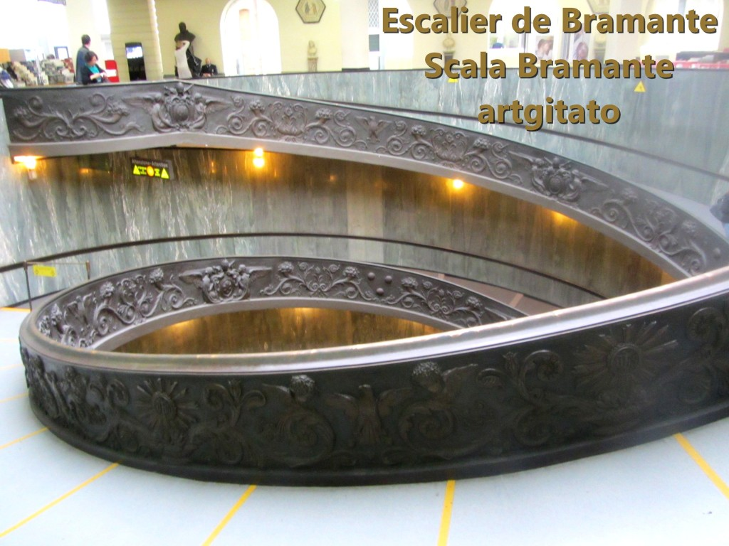 Escalier de Bramante Scala Bramante Musées du Vatican Musei Vatican artgitato 2