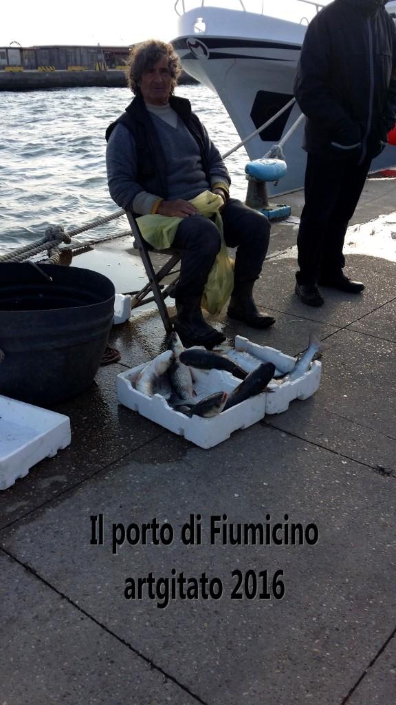 Fiumicino Zona Roma Rome artgitato 2016 Il porto di Fiumicino 10