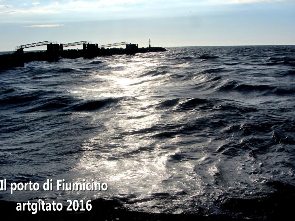Fiumicino Zona Roma Rome artgitato 2016 Il porto di Fiumicino