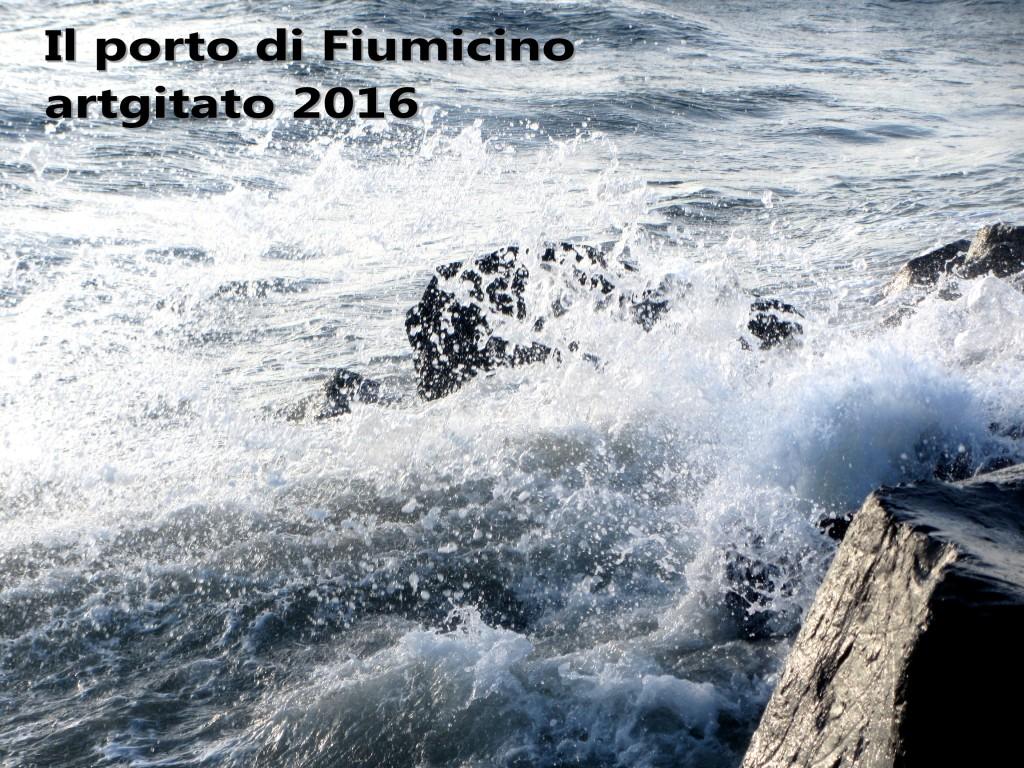 Fiumicino Zona Roma Rome artgitato 2016 Il porto di Fiumicino 2