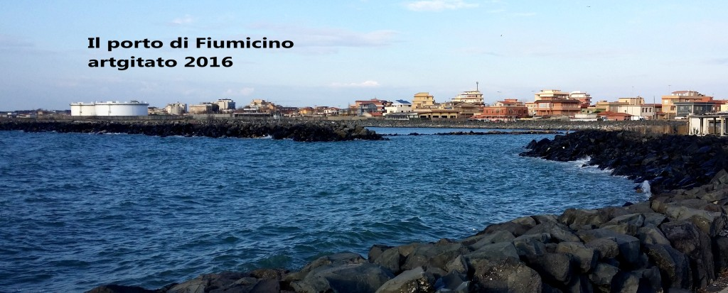 Fiumicino Zona Roma Rome artgitato 2016 Il porto di Fiumicino 3
