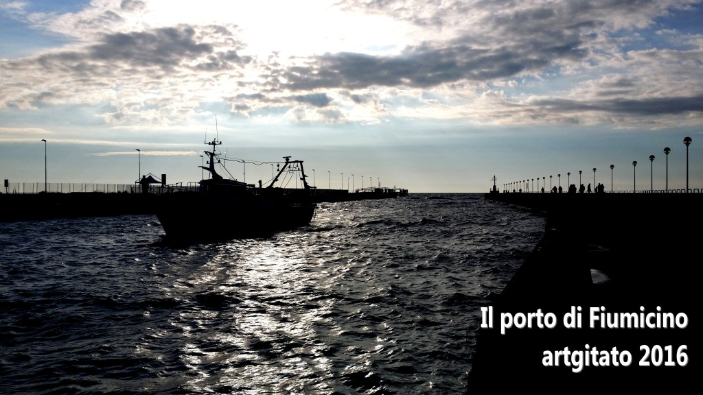 Fiumicino Zona Roma Rome artgitato 2016 Il porto di Fiumicino 4