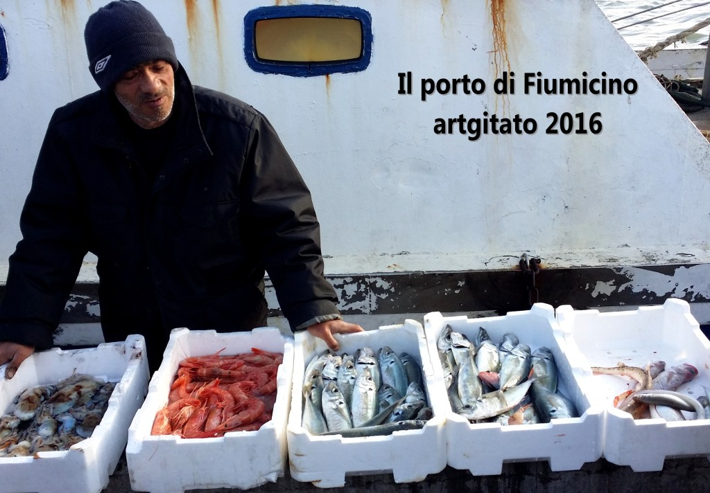 Fiumicino Zona Roma Rome artgitato 2016 Il porto di Fiumicino 6