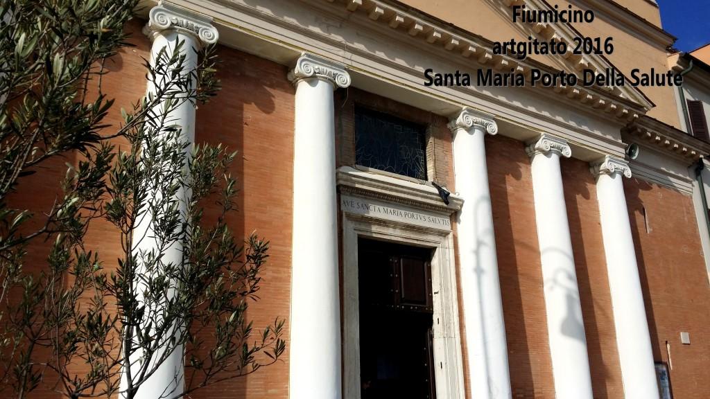 Fiumicino Zona Roma Rome artgitato 2016 Santa Maria Porto Della Salute 1