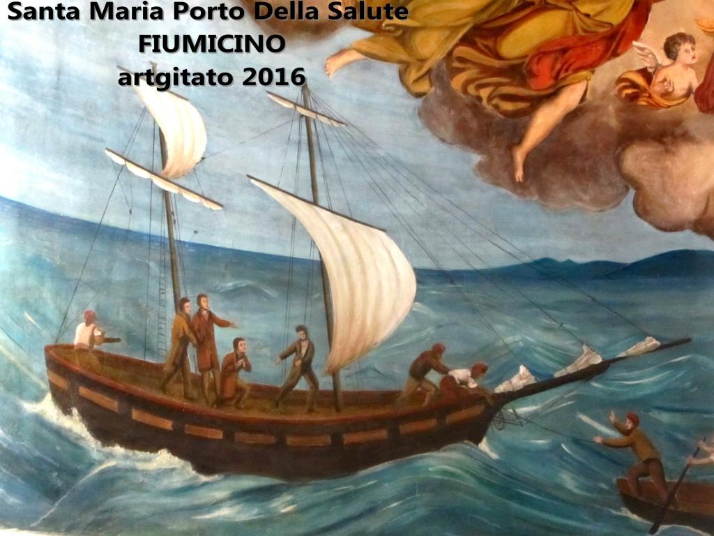 Fiumicino Zona Roma Rome artgitato 2016 Santa Maria Porto Della Salute 12