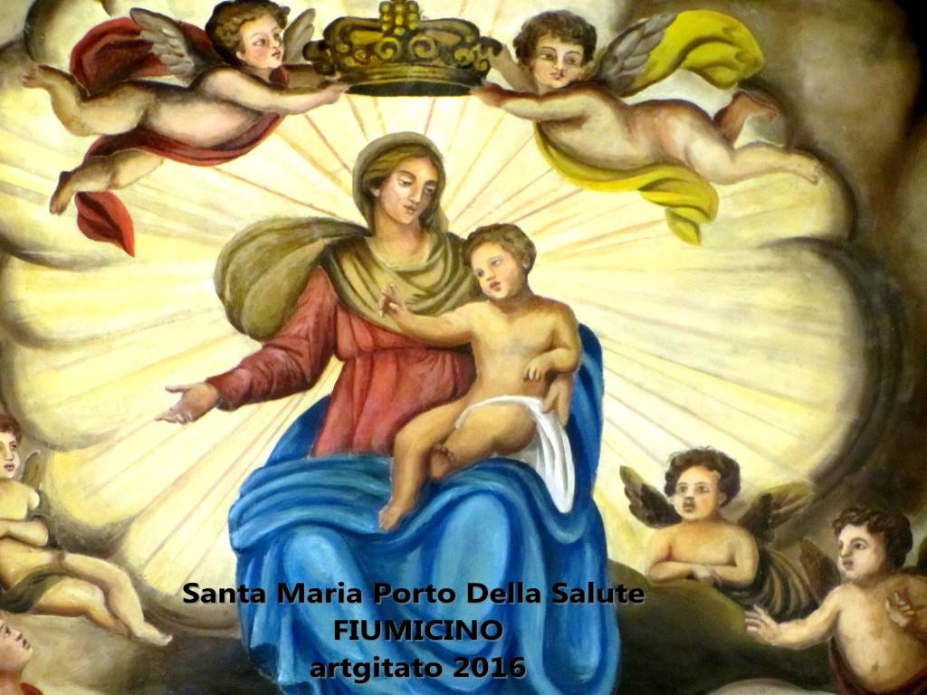 Fiumicino Zona Roma Rome artgitato 2016 Santa Maria Porto Della Salute 14