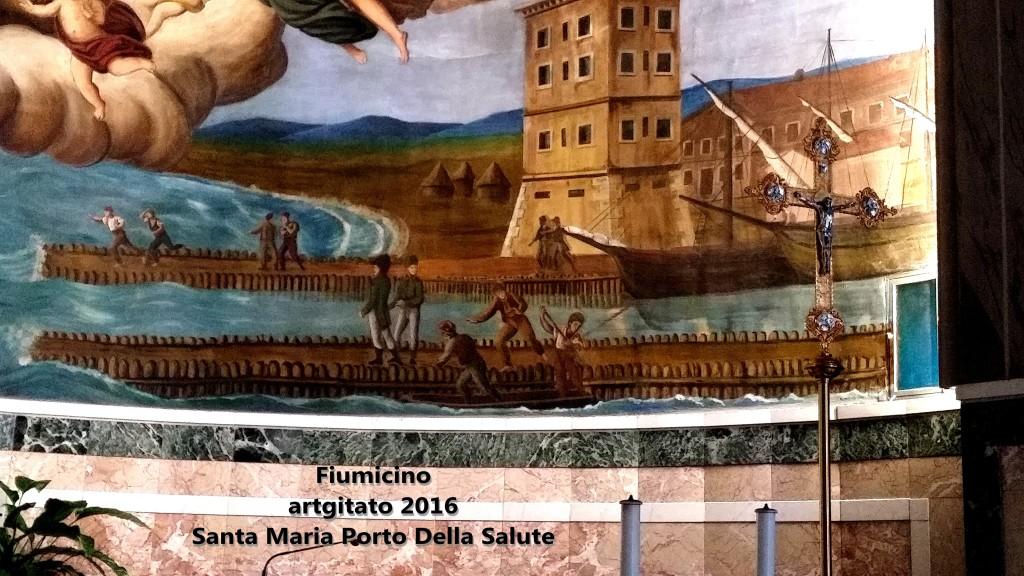 Fiumicino Zona Roma Rome artgitato 2016 Santa Maria Porto Della Salute 8