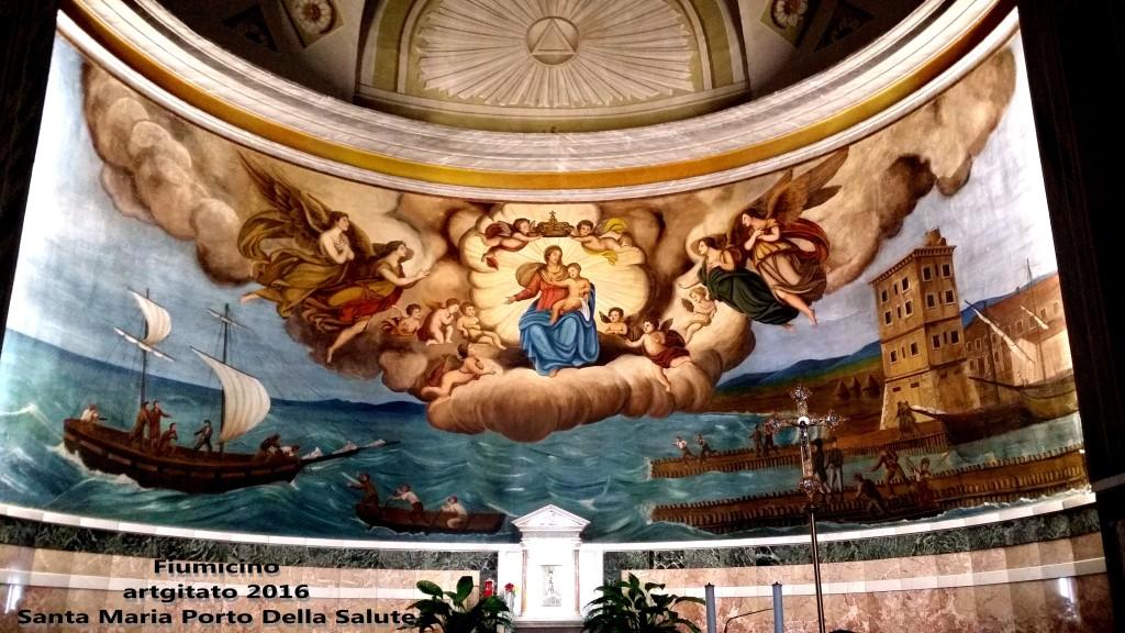 Fiumicino Zona Roma Rome artgitato 2016 Santa Maria Porto Della Salute 9