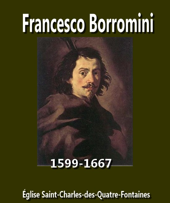 Francesco Borromini Les Quatres Fontaines artgitato